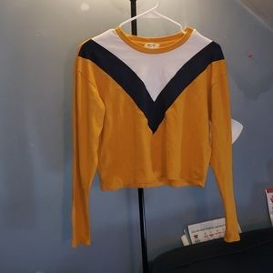 Heart & Hips cropped long sleeve